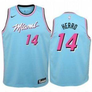 Youth Miami Heat Tyler Herro City #14 Jersey